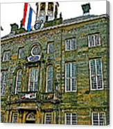 Dutch Architecture Of The Golden Age For Town Hall In Enkhuizen- Canvas Print