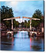 Dutch Bridge Canvas Print