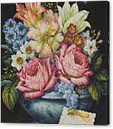 Dutch Flowers Canvas Print