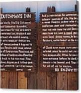 Dutchman's Inn Canvas Print