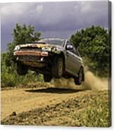Dw Rally Team Takes Flight Canvas Print