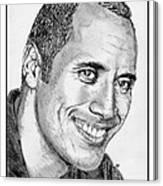 Dwayne Johnson In 2007 Canvas Print