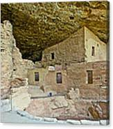 Dwellings In Spruce Tree House On Chapin Mesa In Mesa Verde National Park-colorado  Canvas Print