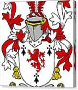 Dwyer Coat Of Arms Irish Canvas Print