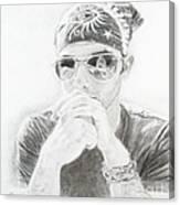 Dylan Fan Canvas Print