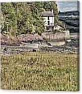 Dylan Thomas Boathouse At Laugharne 2 Canvas Print