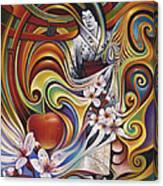 Dynamic Blossoms Canvas Print