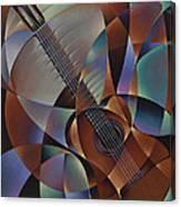 Dynamic Guitar Canvas Print