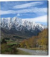 Dynamic Mountains  Canvas Print