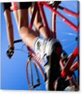 Dynamic Racing Cycle Canvas Print