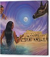Dynamic Taos Il Canvas Print