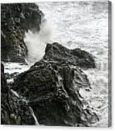 Dyrholaey Surf Canvas Print