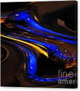 E-motional Afterglow Canvas Print