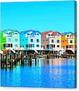 E Sea Living Canvas Print