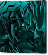 E Vincent Aquamarine Canvas Print