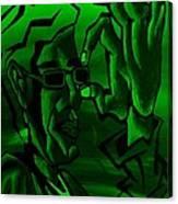 E Vincent Green Canvas Print