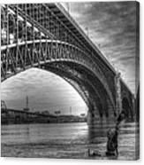 Eads Bridge Canvas Print