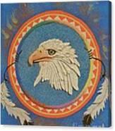 Spirit Of Sacred Healing - Mi Gi Si' Canvas Print