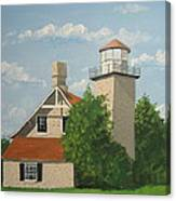 Eagle Bluff Lighthouse Wisconsin Canvas Print