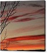 Eagle County Sunset Canvas Print
