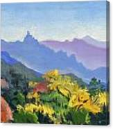 Eagle Craggs Vista Canvas Print