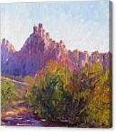 Eagle Crags Canvas Print
