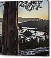 Eagle Falls Exploration Canvas Print