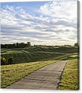 Eagle Knoll Golf Club - Hole Four Canvas Print