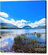 Eagle Lake In Acadia Canvas Print