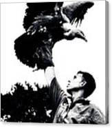 King Of Vultures Canvas Print