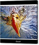 Eagle Oorah Canvas Print