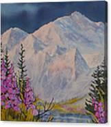 Eagle Peak II Canvas Print