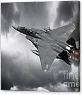 Eagle Power Canvas Print