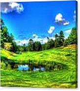 Eagle River Golf Course Canvas Print