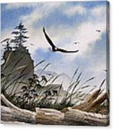 Eagles Home Canvas Print