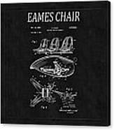 Eames Chair Patent 4 Canvas Print