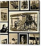 Earlier Aviators Canvas Print