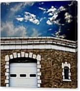 Early 1900s St. Louis Firehouse Canvas Print