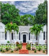 Beautiful 1940 South Florida Home Canvas Print