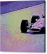 Early 60's Era Formula 1 Race Canvas Print