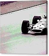 Early 60's Fun In A Formula 1 Race Canvas Print
