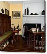 Early American Dining Room Canvas Print