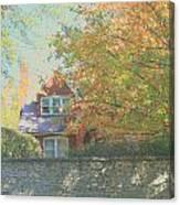 Early Autumn Home Canvas Print