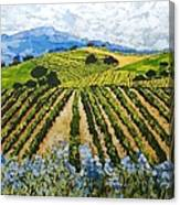 Early Crop Canvas Print