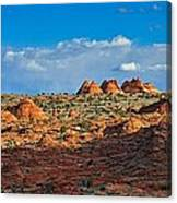 Early Evening Light At Coyote Buttes Canvas Print