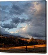 Early Evening Near Ashland Canvas Print