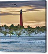 Early Evening Sky Canvas Print