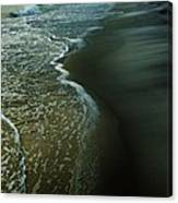 Early Evening Surf Canvas Print
