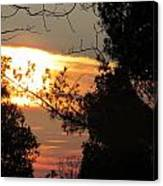 Early Feb 9 2013 Sunset Canvas Print