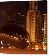 Early Hours In Chicago Canvas Print